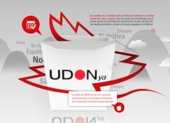 Diseño página web de UdonYa